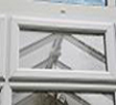 Clean window - the soft bristles of the brush clean round the lead removing previous detergents and debris
